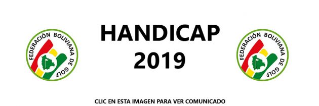 Pago de Handicap Gestion 2019